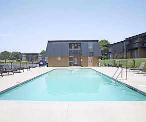 Pool, Royal Orleans Apartments