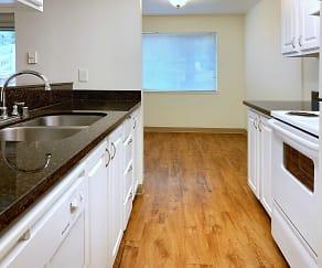Kitchen, Sandpiper Apartments