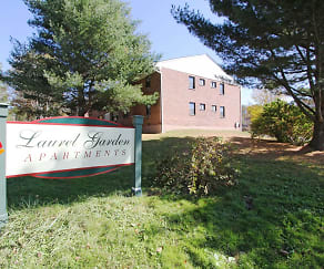 Community Signage, Laurel Gardens Apartments