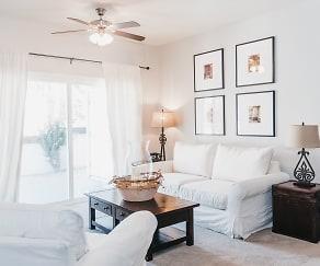 Living Room, Vaseo Apartment Homes
