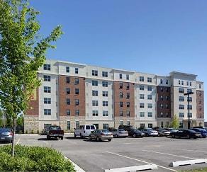 Building, Fountain Square Senior Apartments