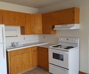 Kitchen, Rivers Edge Apartments