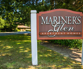 Community Signage, Mariners' Glen Apartment Homes