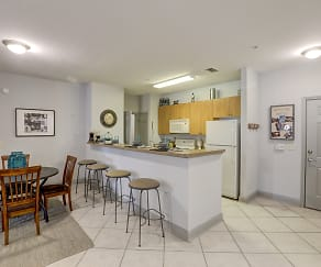 Kitchen, University LinQ - Per Bed Lease