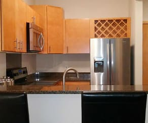 Kitchen, The Franklin Apartments
