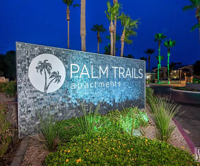 Community Signage, Palm Trails