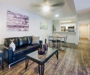Living Room, Lexington Crossing - Per Bed Lease