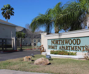 Community Signage, Northwood Domit Apartments