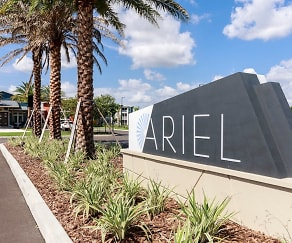 Community Signage, Lake Nona Ariel