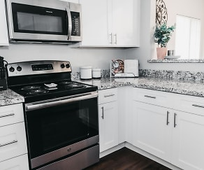 Kitchen, Vaseo Apartment Homes