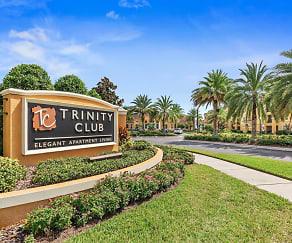 Community Signage, Trinity Club