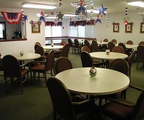 Dining Room, Abbott Parkside Senior Aparments