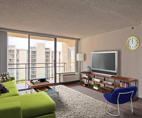 Living Room, AVA Cortez Hill