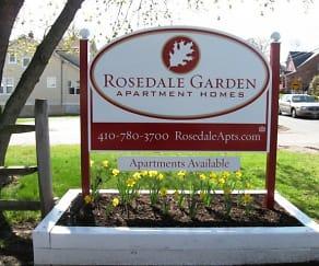 Community Signage, Rosedale Gardens