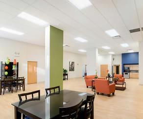 Resident lounge at 2101 S. Michigan Apartments, 2101 South Michigan Apartments