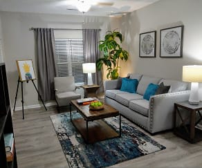 Living Room, Colts Run Apartments