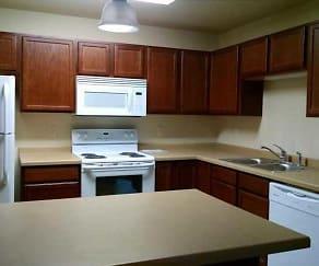 Kitchen, Lignite Apartments