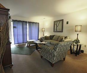 Living Room, Hempstead Garden Apartments