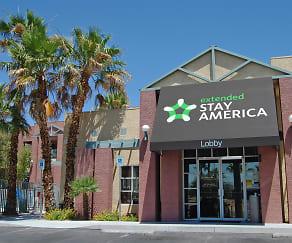 Community Signage, Furnished Studio - Las Vegas - Valley View