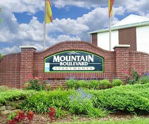 Community Signage, Mountain Boulevard Apartment Homes