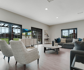 Living Room, Circle @ 1800