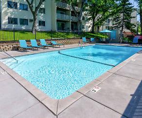 Pool, Hillcrest Place Apartments