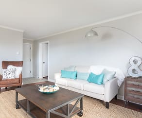 Living Room, Seaglass Village Apartments