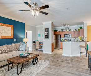 Interior-Living Room/Kitchen, Preston Run