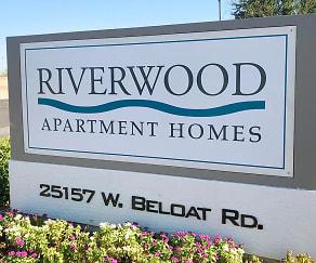 Community Signage, Riverwood Apartment