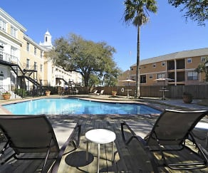 Pool, The Park at Cedar Lawn Apartments