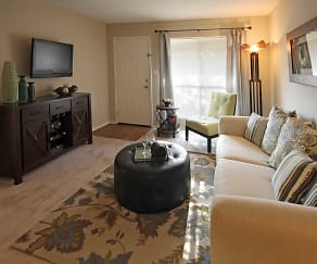 Living Room, Diamond Lakes Apartment Homes