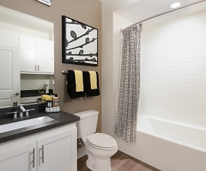 Bathroom, Island View Luxury Apartment Homes