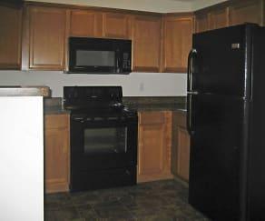 Kitchen, Polo Springs Apartments