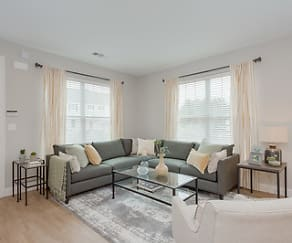 Living Room, The Residences at Oakland Road