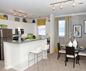 Granite Countertops, Stainless Steel Appliances....Modern touches for your new apartment, Sterling Magnolia Apartments