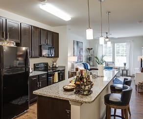 Kitchen, Waterside Apartments