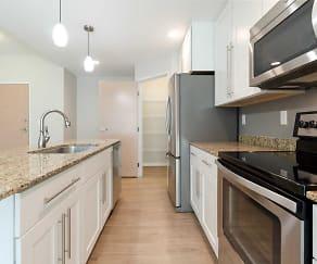 Kitchen, Boulder Apartments