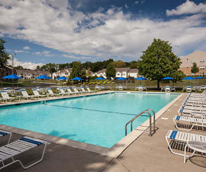 Pool, Sutton Hill Apartments