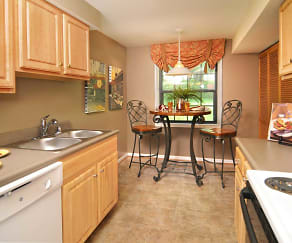 Kitchen, Spring Hill Apartments and Townhomes