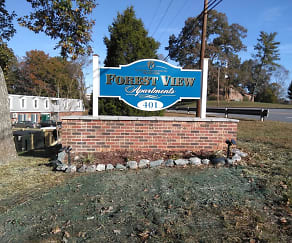 Community Signage, Forest View Apartments