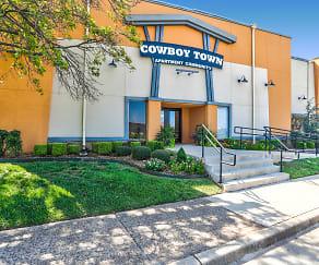 Community Signage, Cowboy Town