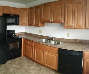 Kitchen, Belair Townhomes