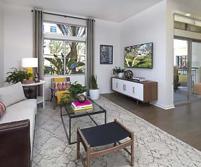 Living Room, Sierra Creek Apartment Homes