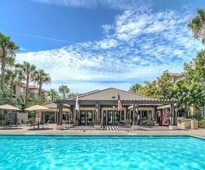 Pool, Palm Island Senior Living