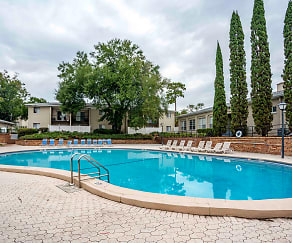 Pool, Townsend Apartments