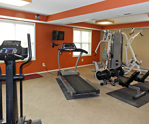 Fitness Weight Room, The Grove At Latimer