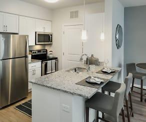 Kitchen, 32 Commercial St Unit 122