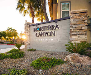 Community Signage, Norterra Canyon Apartments