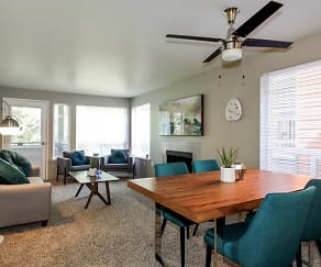 Dining Room, The Diplomat Apartment Homes