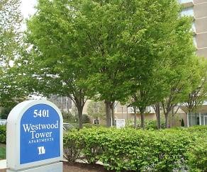 Community Signage, Westwood Tower